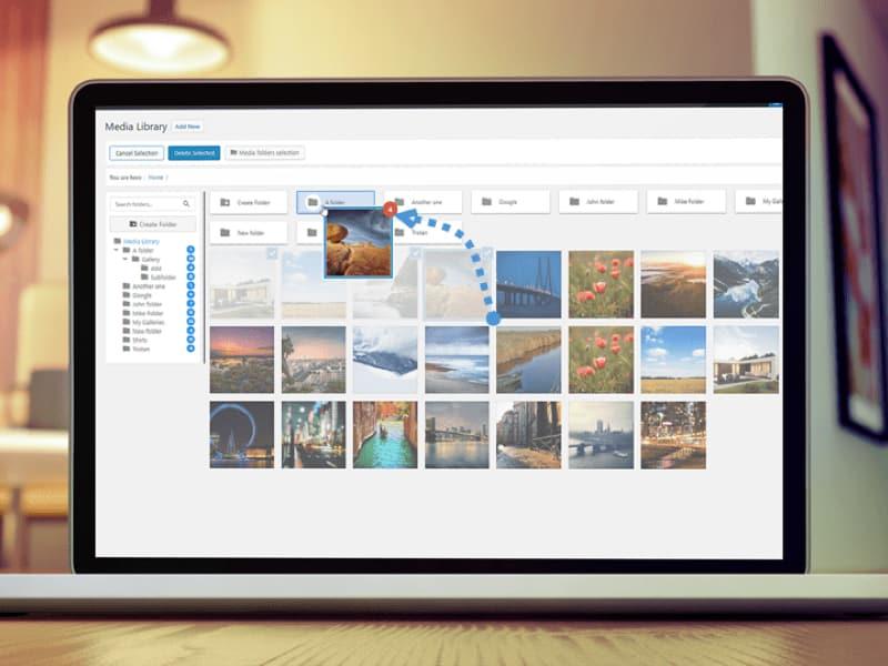 WordPress Plugin Of The Month - Wp Media Folder